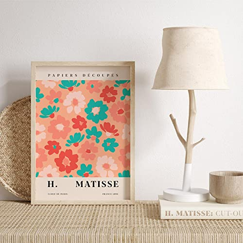 Wall Art Canvas Painting Matisse Color Plant Abstract Flower Market Poster E Stampe Picture Living Room Home Decor 70x90cm (28x36in) Frameless