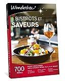 Wonderbox - Coffret Cadeau couple - BISTROTS ET SAVEURS - idée cadeau de noël - 700 repas en brasseries de caractère