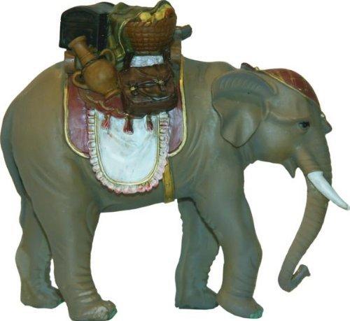Elefant mit Gepäck, geeignet für 15 bis 20cm Figuren