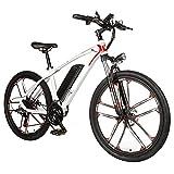 SUNWEII E-Mountain Bike Bicicleta eléctrica de 26