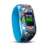 Garmin Vívofit Jr. 2 - Monitor de actividad para niños, Marvel Avengers (Banda elástica), Edad 4+