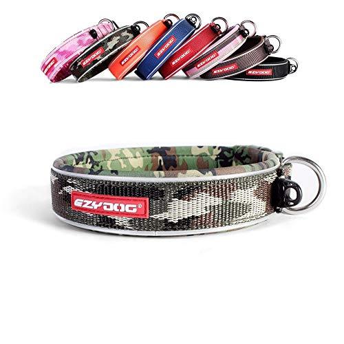 EzyDog Neo - Hundehalsband - Medium(39-44cm) - Grünes Camo