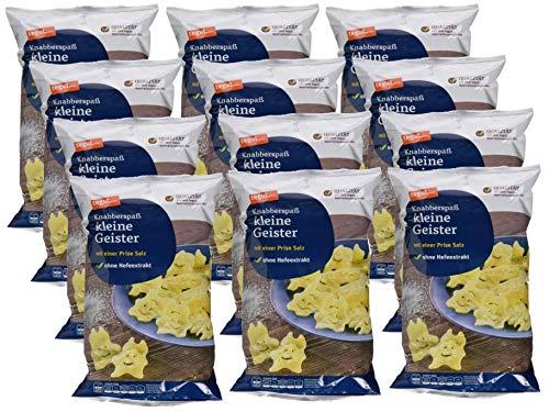 tegut…… Kartoffelsnack Kleine Geister, 12er Pack (12 x 100 g)