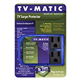 Electronic Surge Protector for TV, DVD and Game Consoles
