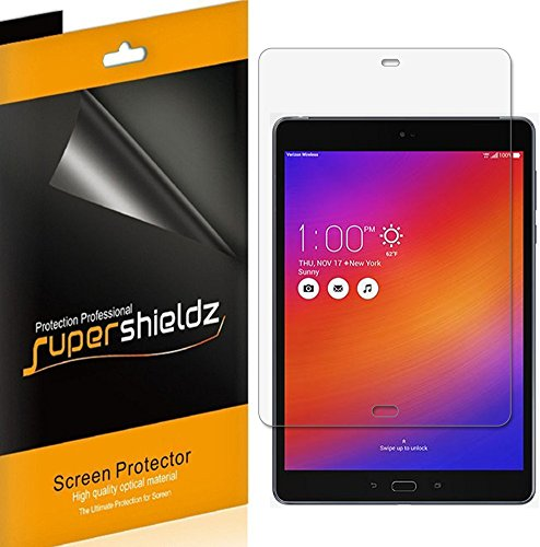 (3 Pack) Supershieldz for Asus Zenpad Z10 (Verizon) Screen Protector High Definition Clear Shield (PET)