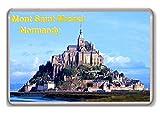 Francia, Normandía, Mont Saint-Michel/imán de nevera.!!!