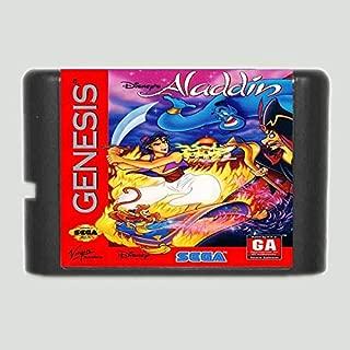 Aladdin 16 bit MD Game Card For 16 bit Sega MegaDrive Genesis game console ,Sega Genniess-Sega Ninento,16 bit MD Game Card