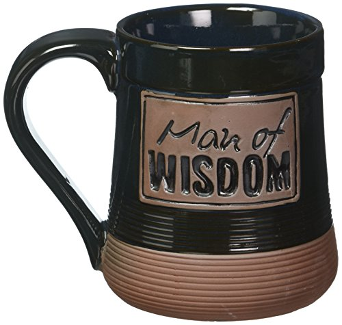Abbey Press Man of Wisdom Pottery Mug