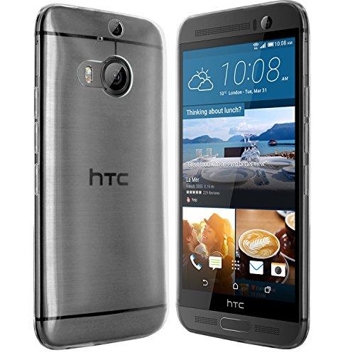 moodie Silikonhülle für HTC One M9+ Hülle in Transparent - Hülle Schutzhülle Tasche für HTC One M9 Plus