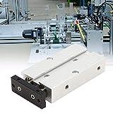 Cilindro neumático del cilindro de aire del proceso de la alta precisión 10m m agujero de alta presión bien sellado doble efecto para la industria textil (TN10X10)