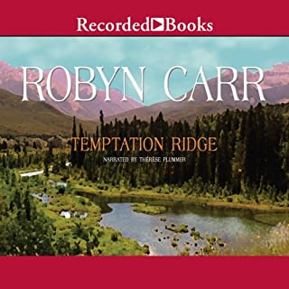 Temptation Ridge audiobook cover art