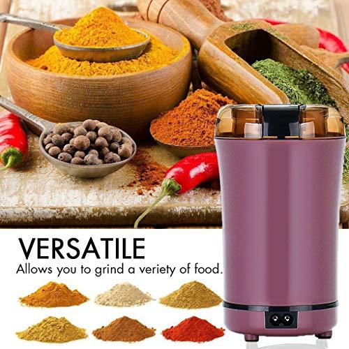 Acecoree- Elektroschleifer Kaffee-Gewürz-Nuss mit Edelstahl-Blatt-elektrischer Mühle 1-Tassen-Kaffeemaschinen