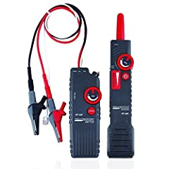Upgraded after nf-816, can detect cable location in underground or other invisible cable, the range is 0-2m Signal sensitivity for transmitter and receiver is adjustable. (0-2M) Easy to track with complete ac interference rejection Tone trace live ca...