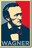 TPCK Richard Wagner Kunstdruck (Obama Hope Parodie)