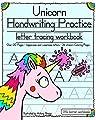 Unicorn Handwriting Practice: Letter Tracing Workbook (Little Learner Workbooks)