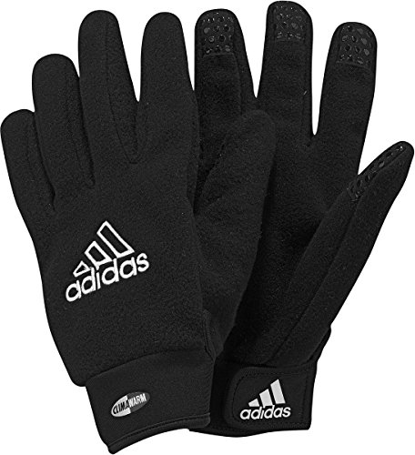 adidas Fieldplayer Soccer Gloves, Unisex Adulto, Black/Wht, 6