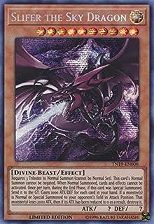 Slifer the Sky Dragon (alternate art) - TN19-EN008 - Prismatic Secret Rare - Limited Edition