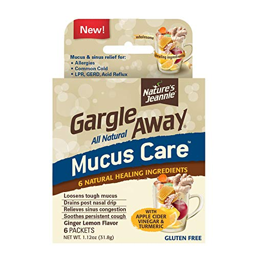 Gargle Away by Nature's Jeannie All Natural Mucus Care- for Mucus Relief,...