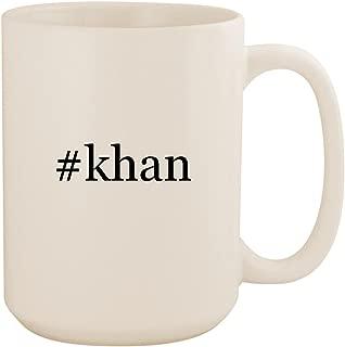#khan - White Hashtag 15oz Ceramic Coffee Mug Cup