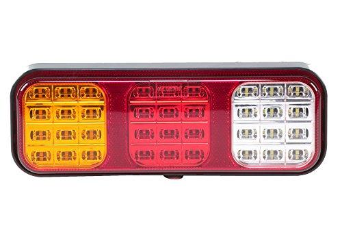 HELLA 2VP 357 018-001 Heckleuchte - Valuefit - LED - 12V/24V