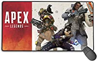 A-Pex Legend Blood-Hound Mouse Pad, Large Extra Large Desk Mat Gaming Mouse Pad Cartoon Keyboard Pad Waterproof Anti-Slip Durable Stylish Mouse Pad for Office and Home (Size: 750 x 400 x 3mm)