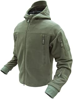 Seirra Hooded Fleece Jacket - Small - Olive