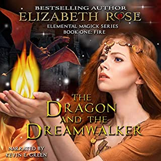 The Dragon and the Dreamwalker audiobook cover art