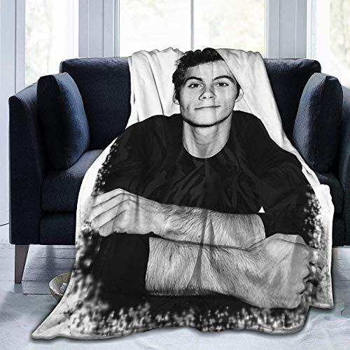 Dylan O'Brien Decke Klimaanlage Decke Student Decke Weich Thermodruck Decke Kinder/Erwachsene 127 x 152 cm