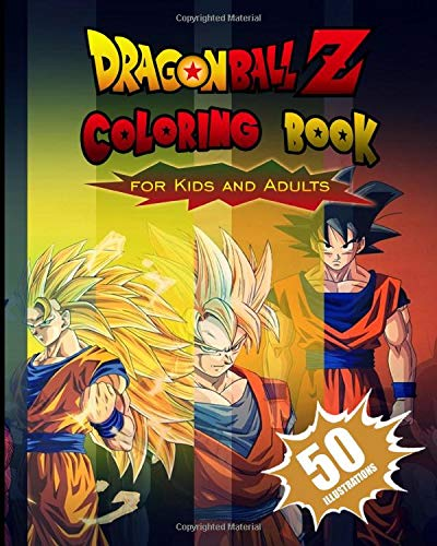 Top dragonball coloring book for 2021