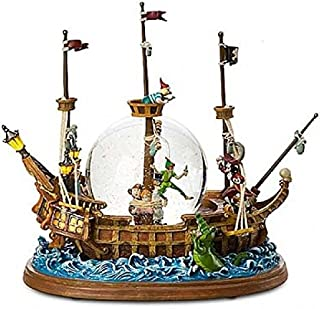 Disneyland Paris Peter Pan Pirate Ship Snow Globe …