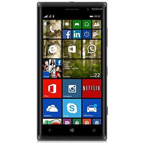 Nokia Lumia 830 RM-985, 16GB, Factory Unlocked, US Warranty (Black)