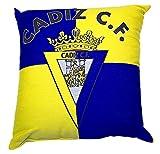 Cádiz CF Cojcad Cojín, Amarillo/Azul, Talla Única