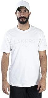 CAMISETA NBA LOS ANGELES LAKERS MONOTONE PUFF OFF WHITE OFF WHITE NEW ERA