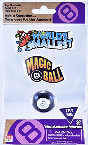 Worlds Smallest Magic 8 Ball Worlds Smallest Magic 8 Ball