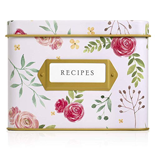 Best index card box 4×6 decorative for 2021