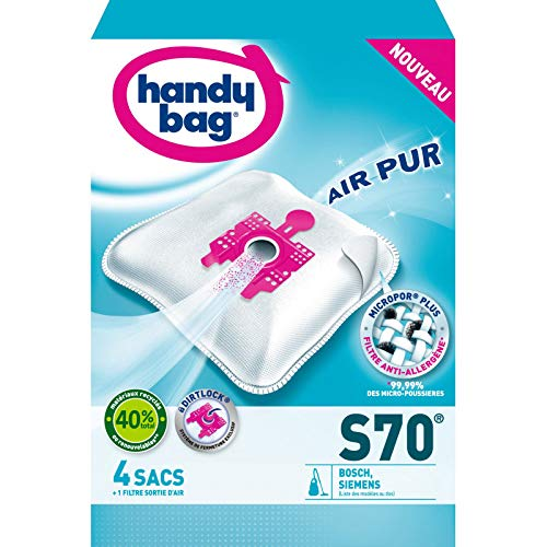 Handy Bag - 4 sacs HANDY BAG - S70 (+ 1 filtre offert)