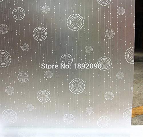 YSHUO raamsticker Privacy zelfklevende decoratieve raamfolie ondoorzichtig Vinyl witte slaapkamer