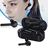 Foonee Translator Earbuds, Language Translator Headset, 33 Languages, 2 in 1 in-Ear Instant Voice Language Translator Headphones, Noise Canceling Wireless Earbuds Suitable for iOS & Android (Black)