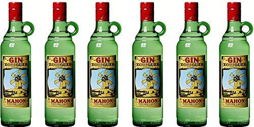 Xoriguer Gin Mahon, Menorca, 0,7l Gin Sparpaket (6 x 0.7 l)