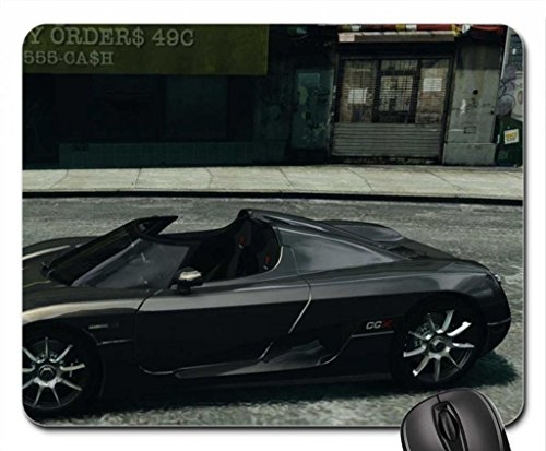 Koenigsegg CCX 2006 v 1.0 for GTA 4 Mouse Pad, Mousepad (10.2 x 8.3 x 0.12 inches)