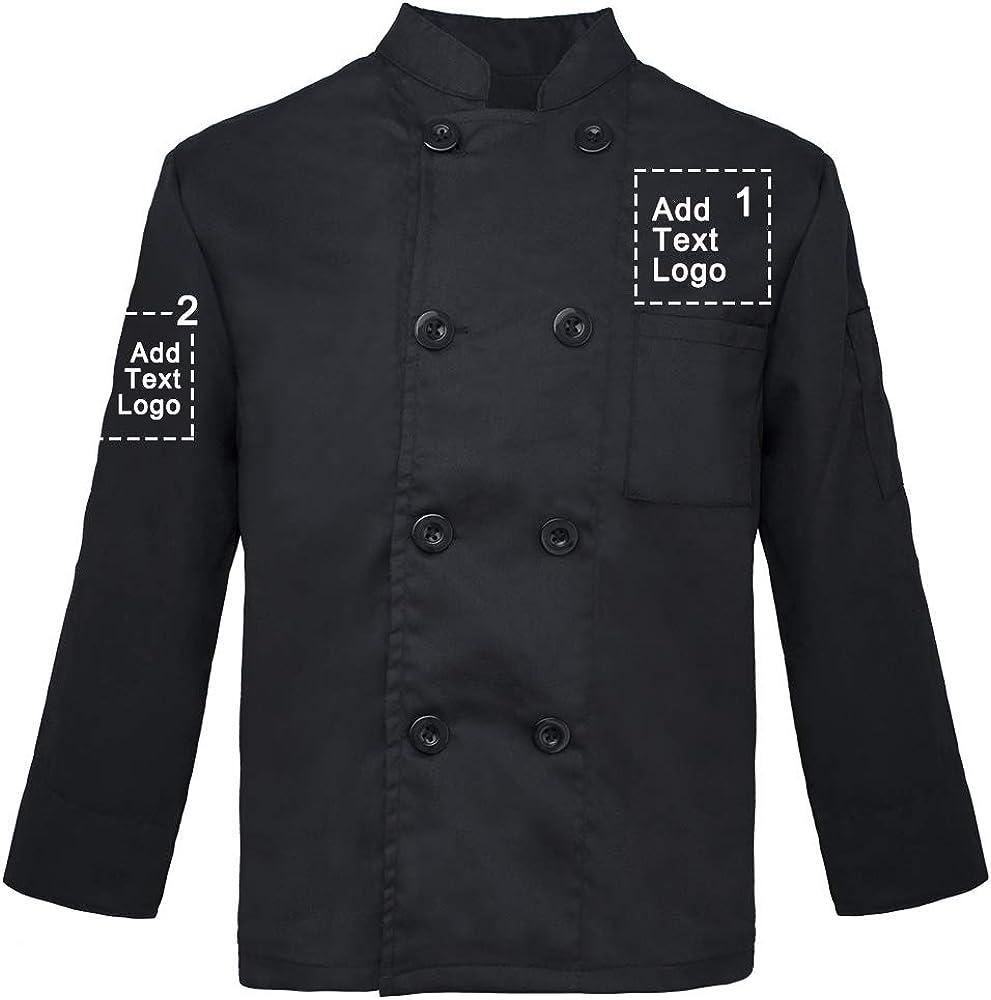 TOPTIE Custom Kid's Chef Coat Max 51% OFF Heat Gorgeous Uniform Tra Cook Personalized