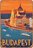 Tofee Budapest Ungarn Eisen Poster Vintage Malerei