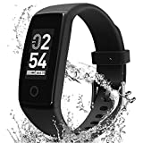MorePro Fitness Tracker with Blood Pressure Heart Rate Monitor, Waterproof Health Tracker with Sleep Monitor Step Calorie Counter Pedometer Call Reminder, Activity Tracker Watch for Women Men Kids