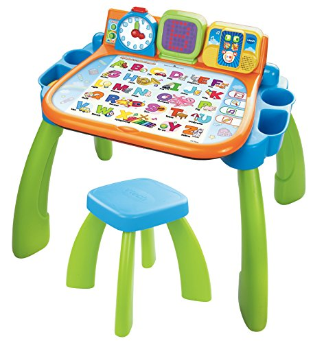 VTech Touch and Learn Activity Desk (Frustration Free Packaging), Green