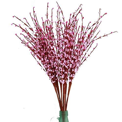 LXESWM Kunstmatige Jasmijn Bloemen Kunstplanten Bonsai Thuis Tuin Verandah Keuken Binnen Outdoor Decoratie 10 Stks