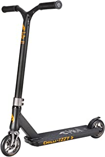 Chilli Izzy Mini Pro Scooters/Pro Scooter - Trick Scooter, Stunt Scooter, BMX Scooter, Freestyle Scooter, Trick Scooters for Kids, Stunt Scooters, Trick Scooters for Teens & Adults (Grey, Blue)