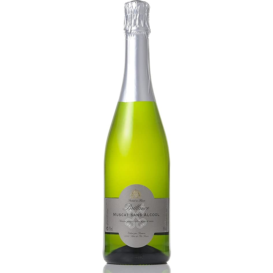カバレッジ広いダメージフランス マスカット (ノンアルコール ワイン) リヴァロゼ ブリアンス スパークリング 750ml