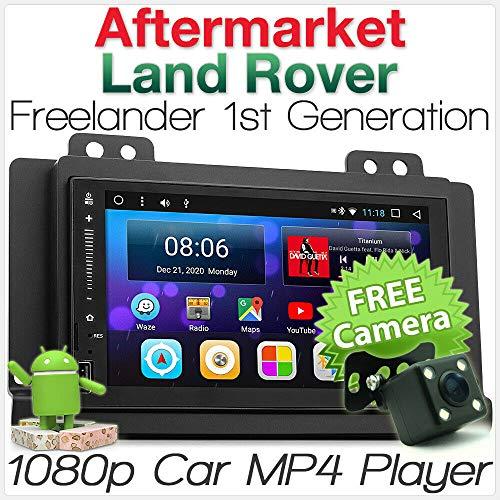 tunez Android 7.1 Nougat Auto Speler Voor Land Rover Freelander 1e Generatie MP3 Stereo Radio Fascia Kit 2004 2005 2006 2007 Jaar