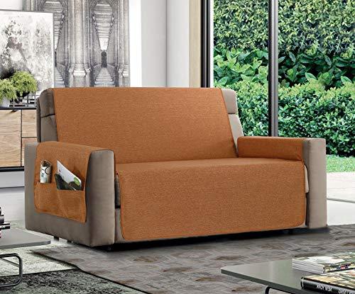 MB HOME BASIC Funda de sofá Antideslizante Relax, Naranja,