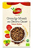 Vivibio Crunchy Bio Avena con Cocco e Cacao senza Glutine - 250 g